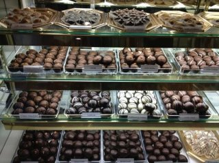 Counter at The Chocolate Fetish