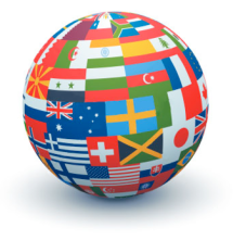 Colorful-globe-with-national-flags