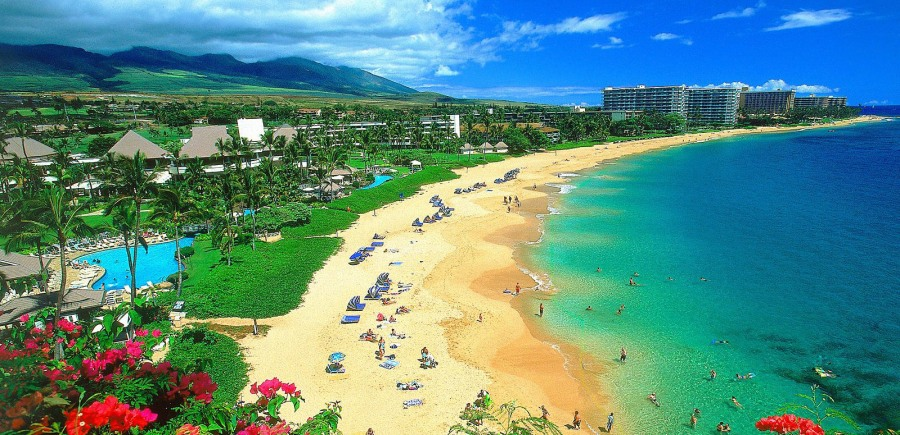 Hawaii, beach
