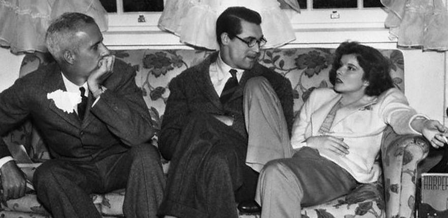 Howard-Hawks-Cary-Grant-and-Katharine-Hepburn-on-the-set-of-Bringing-Up-Baby-1938