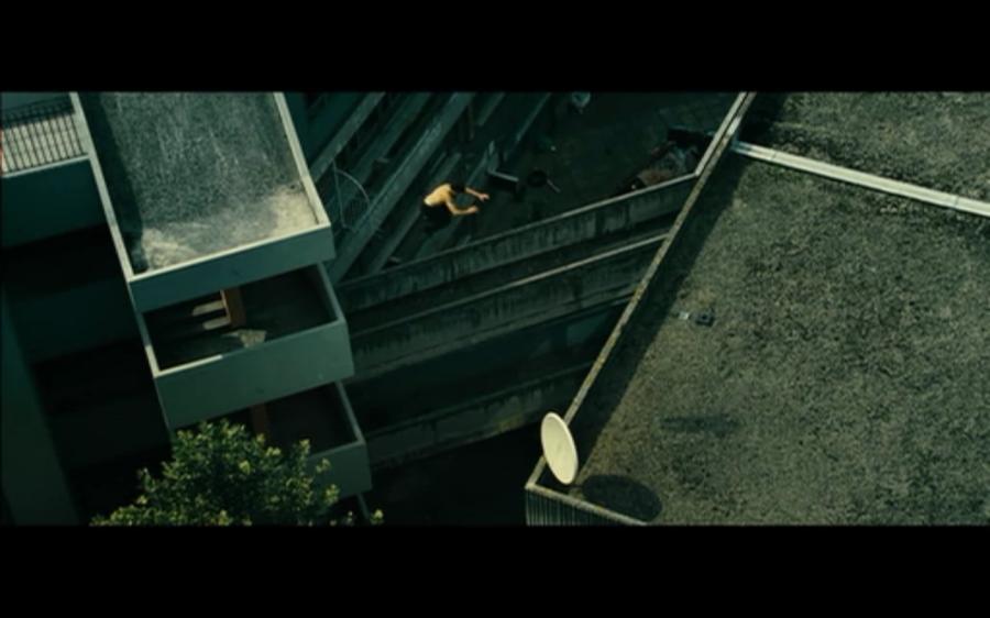 B-12 action scene