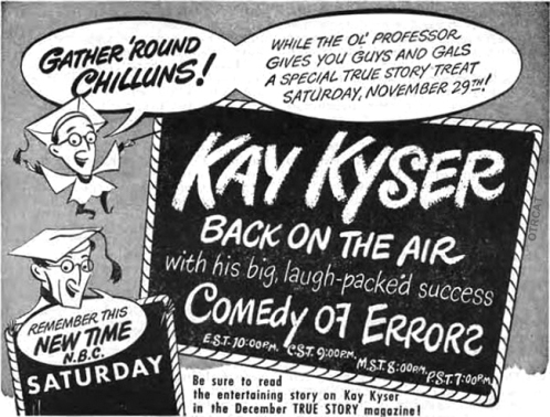 kay-kyser Comedy of Error