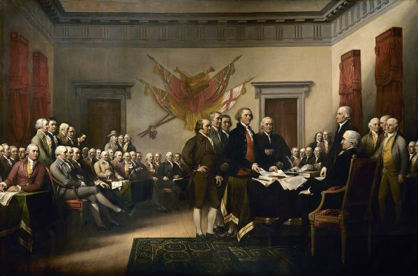 Declaration of Independence, 4th of July, Founding Fathers, Jefferson, Franklin, Hancock, Trumbull